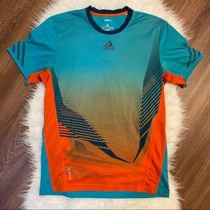 Adidas Adizero Formation Athletic T-Shirt